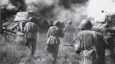 The Soviets attack at Orel after victory at Kursk